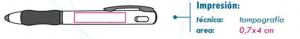 area de impresión bolígrafo masaryk
