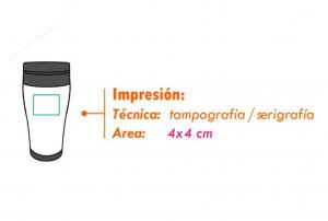 area impresion vaso tovar