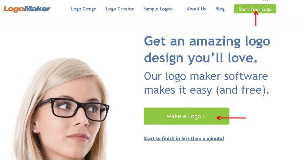 home logo maker