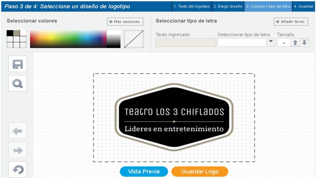 logo maker paso 3