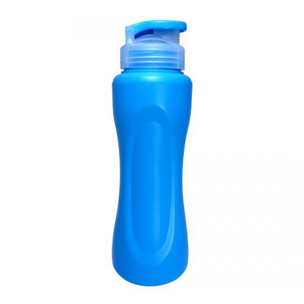 botella deportiva caura azul
