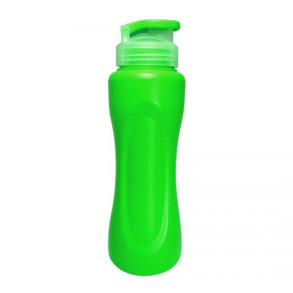 botella deportiva caura verde