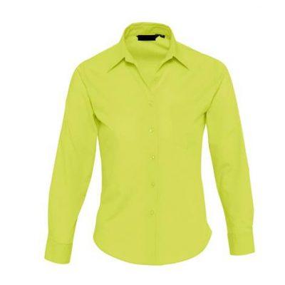 Camisa Basic Chica Popelin Chica Verde