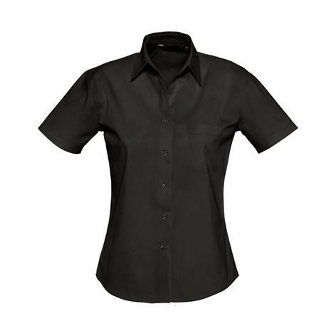 Camisa Bles Chica MC Negro