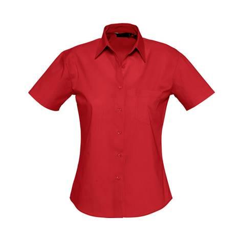 Camisa Bles Chica MC Roja