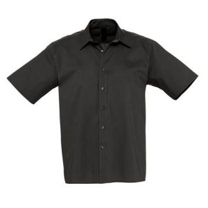 Camisa Bles Chico MC Negra