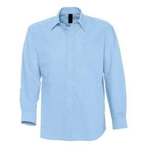Camisa Premium Chico Azul
