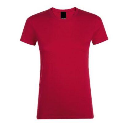 Camiseta Chica Rojo