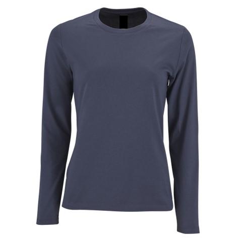 Camiseta Chica Azul Marino