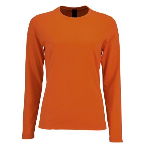 Camiseta Chica Naranja