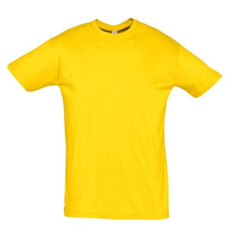 Camiseta Chico Amarillo Gold