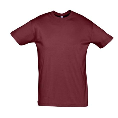 Camiseta Chico Burdeos