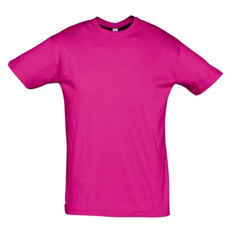 Camiseta Chico Fucsia
