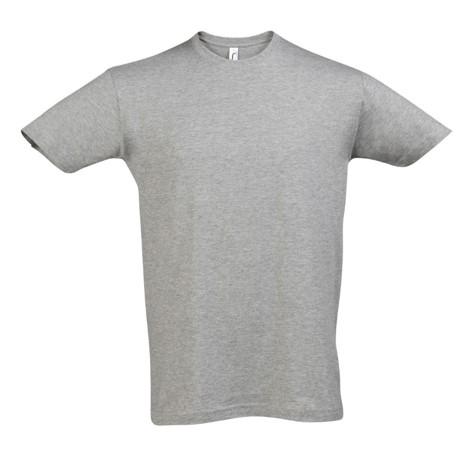 Camiseta Chico Gris Melange