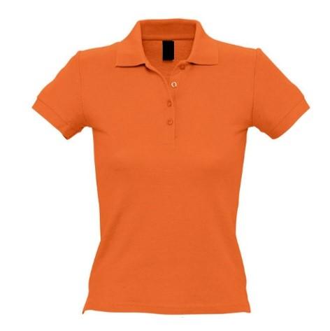 Polo Chica MC Naranja