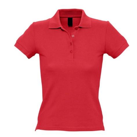 Polo Chica MC Rojo
