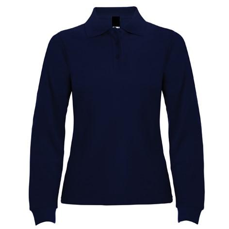 Polo Chica ML Azul Marino