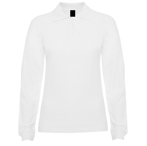 Polo Chica ML Blanco