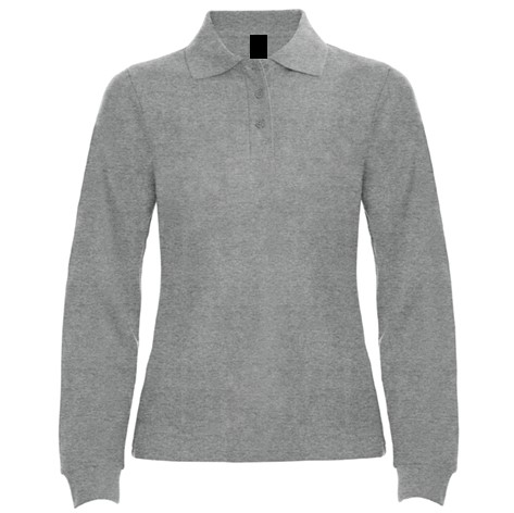 Polo Chica ML Gris