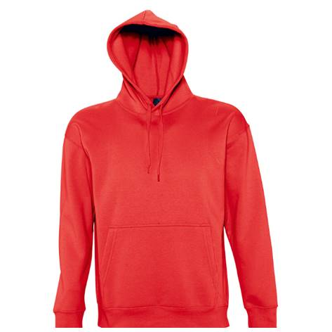 Sudadera CHIC con Capucha Roja