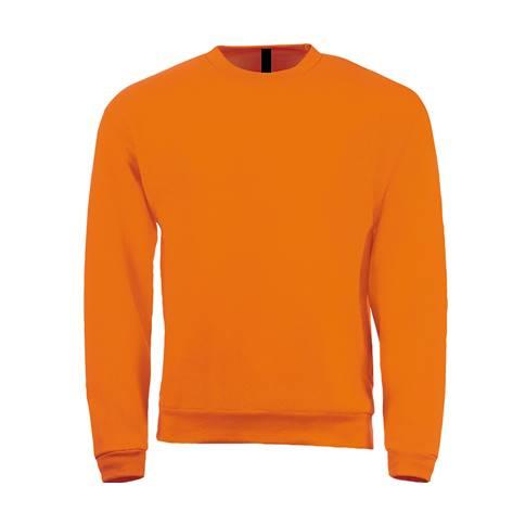 Sudadera Clasica Naranja